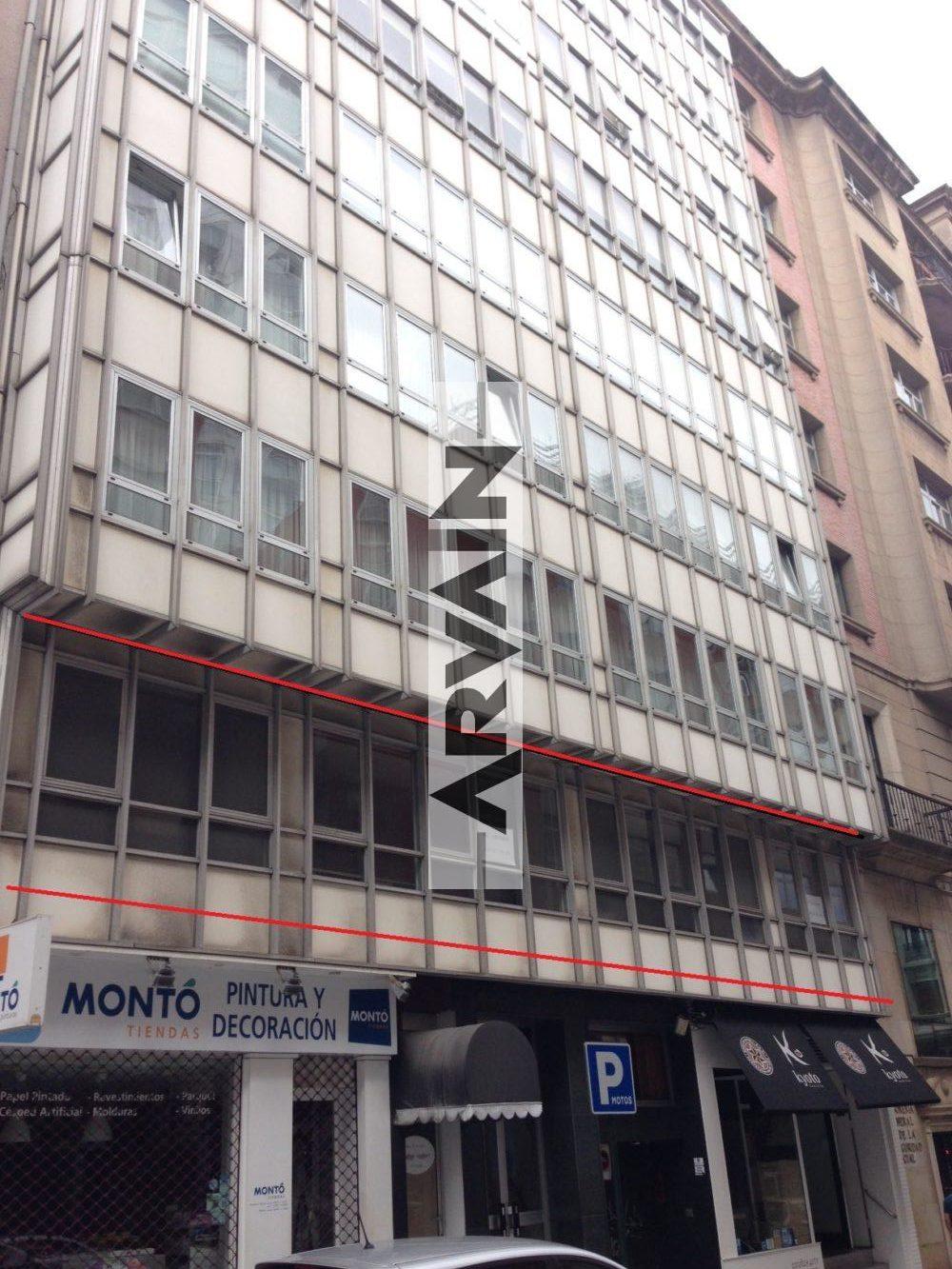 Local de oficinas plaza de vigo la coru a arvain servicios inmobilairios - Alquiler oficinas coruna ...